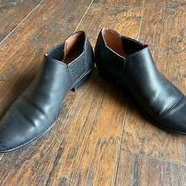 Coach G3123 Women's Black Leather Ankle Bootie Devin Sz 8b Photo