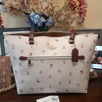 Coach Gallery Heart Tote & Free Versace Eros Perfume Sample Photo