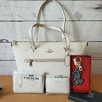 Coach Gallery Tote  Wallet  Wristlet  Bag Charm Nwt  Photo
