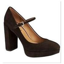 Coach Genuine Brown Suede Mary Jane Pumps Size 5.5 (35.5) Photo