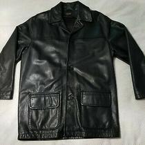 Coach Genuine Leather Jacket. Size Medium Photo
