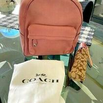Coach Glitter Rose Large Leather Backpack Nwt 450 Rare & Stunning Photo
