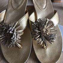 Coach Gold 71/2 Thong Sandals Photo