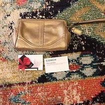Coach Gold Evening Bag or Wristlet Photo