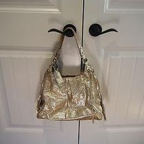 Coach Gold Metallic Purse Photo