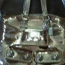 Coach Gold Poppy Handbag  Photo