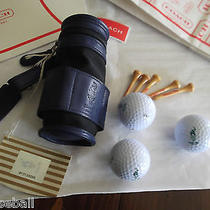 Coach Golf Bag Mini Olympic 1996 With Balls and Tees  Must See Photo