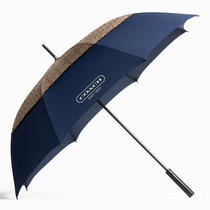 Coach Golf Umbrella Style F64276 Khaki/navy Photo