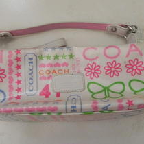 Coach Graffiti Baguette Handbag  Photo
