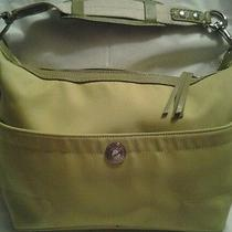 Coach Green Hobo Handbag Photo