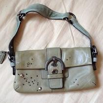 Coach Green Leather Handbag Photo