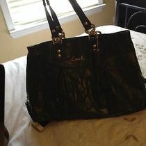 Coach Green Leather Handbag Photo