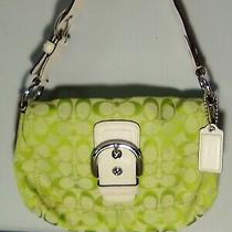 Coach Green Soho Hobo Purse With Buckle-D1076 Photo