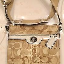 Coach Hampton Optic Art Signature Crossbody Photo