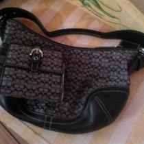 Coach Handbag and Matching Wallet New Condition With Dust Cover  Photo