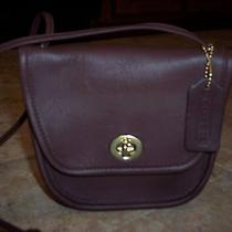 Coach Handbag - Brown Leather Photo
