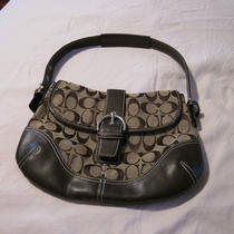Coach Handbag - Brown-Small Photo
