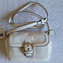 Coach Handbag Campbell Leather Camera Bag Crossbody Ivory F25150 Nwt Photo