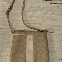 Coach Handbag Crossbody Tan Photo