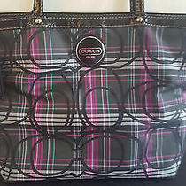 Coach Handbag Great for Summer Authentic Tote Style Handbag Photo