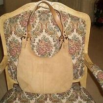 Coach Handbag K3s-9254 Shoulder/tote Suede Tan Color Medium Photo
