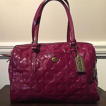 Coach Handbag - Magenta - Medium Size - Free Shipping Photo
