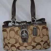Coach Handbag Purse Brown Photo