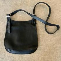 Coach Handbag Purse Leather Black Authentic Photo