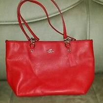 Coach Handbag Red  New Without Tags Photo