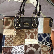 Coach Handbag/tote - Brown  Photo