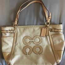 Coach Handbag Tote Msrp 298.00 Photo