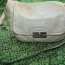Coach Handbags Large Pre-Owned Gold Metallic Soft Leather Boho Hobo Purse Photo