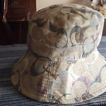 Coach Hat Great Colors So Cute M/l Must See Photo