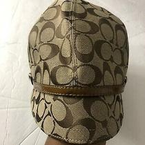 Coach Hat Newsboy Cap Signature