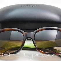Coach Hc 8001 Emma Sunglasses 5052/13 Tortoise Frame Brown Gradient Lens New  Photo