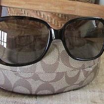 Coach Hc8043 L037 Bridget 59 Mm Women Sunglasses  Case Photo