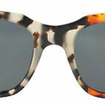 Coach Hc8236 551987 Amber Grey Rectangle Sunglasses - New W/defect Photo