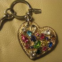 Coach Heart Key Ring Photo