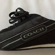Coach Hilary Signature C Jacquard Sneakers Style A1337 for Women Photo
