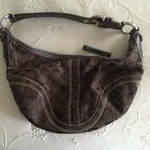 Coach Hobo Handbag - Small - Dark Brown Photo