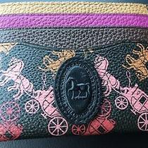 Coach Horse and Carriage Blk Multi Card Case  Rare Nwt Photo