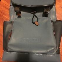 Coach Hudson Backpack - Cobalt Blue - Nwt - 89896 Photo