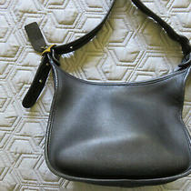 Coach Janice Legacy Vintage Leather Purse Crossbody Top Zip Closure Gold Hardwr Photo