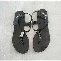 Coach Jelly T Strap Sandals Size 6 Photo