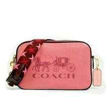 Coach Jes Crossbody in Colorblock Brand Nwt Gorgeous Pink Color Photo