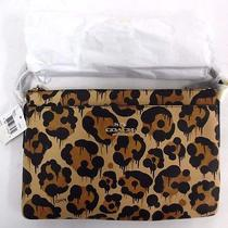 Coach Journal Crossbody Leopard Ocelot Print Photo