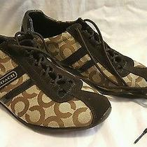 Coach Kathleen Brown Signature Sneakers Size 10 Photo