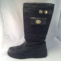 Coach Kayla Insulated Boot - A7225 - Black - Women's Size 10m - Good Photo