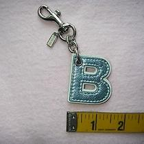Coach Key Chain Key Ring Key Fob. Photo
