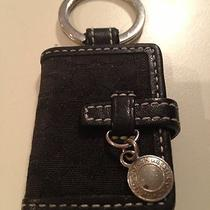 Coach Key Ring Signature Picture Frame Black  Excellent Photo